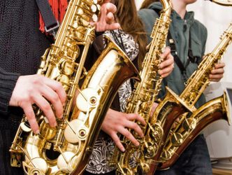 Bildvergrößerung: Saxophon