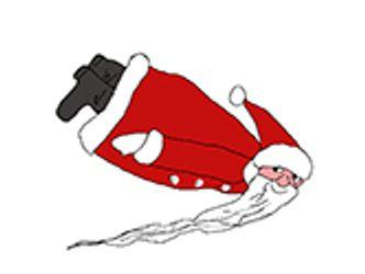 Bildvergrößerung: Weihnachstmann-Zeichnung