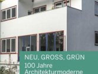 Buchcover: NEU, GROSS, GRÜN