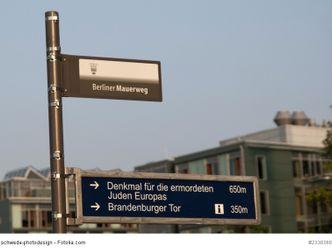 Bildvergrößerung: Schild Mauerweg