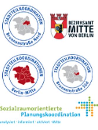 Die Bezirksregionen von Mitte 10 Gesichter eines Bezirks