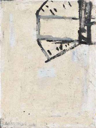 Bildvergrößerung: Achim Niemann: Zeichen oben rechts, 2004