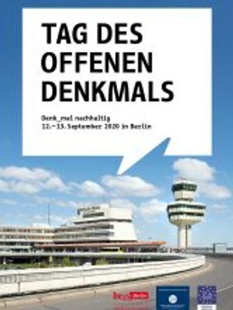 Bildvergrößerung: Umschlag des Programmheftes für den Tag des offenen Denkmals in Berlin 2020
