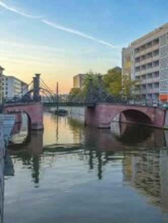 Bildvergrößerung: Mitte Friedrichsgracht Jungfernbrücke