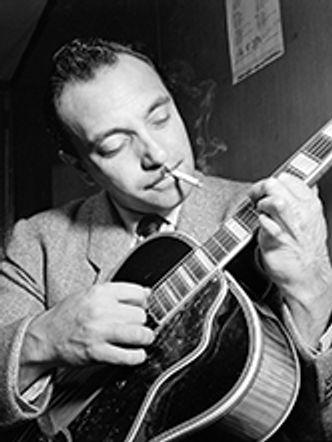 Bildvergrößerung: Django Reinhardt, New York, 1946