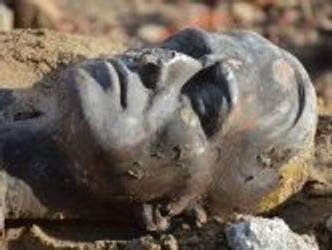 Bildvergrößerung: Terrakotta-Kopf