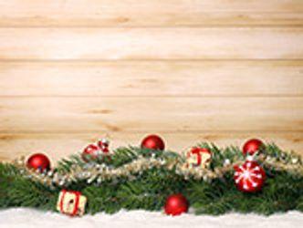 Bildvergrößerung: Weihnachtliches auf Holz
