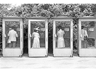 Bildvergrößerung: Telefonzellen in der DDR, 1985