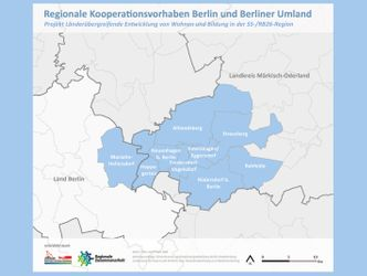 Link zu: Länderübergreifende Entwicklung von Wohnen und Bildung in der S5-/RB26-Region