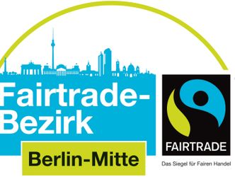 Fair Trade Bezirk Mitte Silhouette