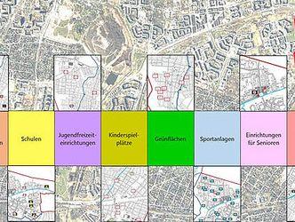 Abbildung des Deckblatts des Konzepts zur Sozialen Infrastruktur des Bezirks Berlin Hellersdorf-Marzahn