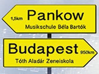 Bildvergrößerung: Wegweiser: Auftakt zur Konzertreise nach Budapest