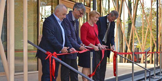 Umweltbildungszentrum Im Britzer Garten Nach 16 Monatiger Bauzeit Fertiggestellt Berlin De