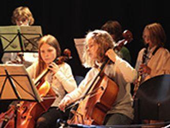 Bildvergrößerung: Junge Cellisten