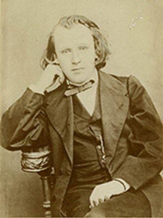 Bildvergrößerung: Johannes Brahms, 1853