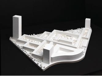 Modell des Entwurfs von David Chipperfield Architects