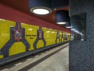 Charlottenburg, U-Bahnhof Richard-Wagner-Platz