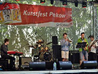 Bildvergrößerung: Groove Pilots auf dem Kunstfest Pankow