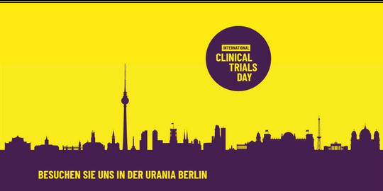 Logo der Partner zum Internationalen Tag der Klinischen Studien