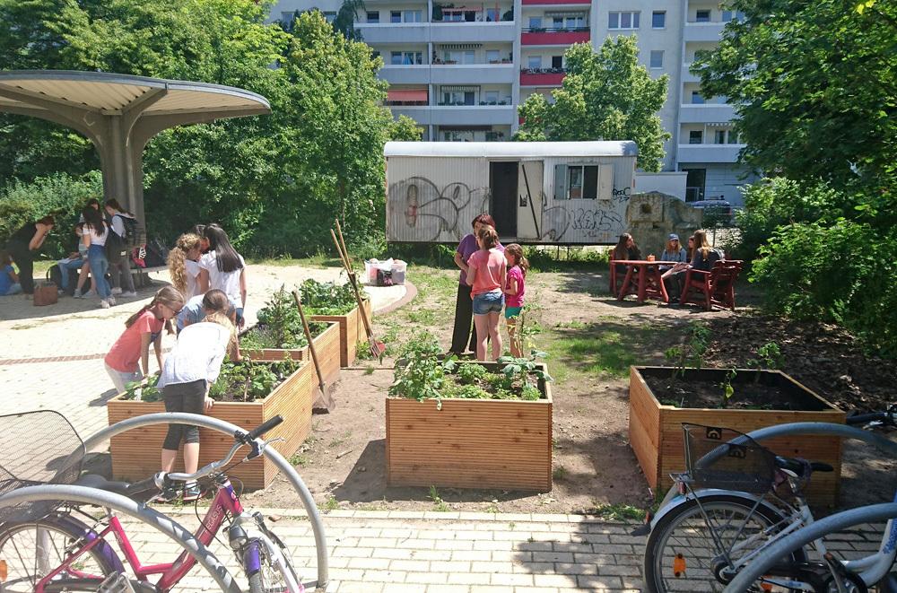 Auszeichnung f r gemeinschaftsg rten for Pflanzencenter berlin