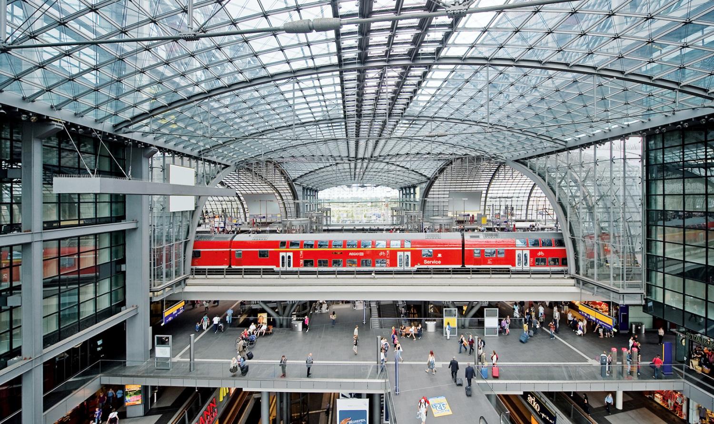 Berlin Hauptbahnhof; Bild: Deutsche Bahn AG / Max Lautenschläger
